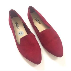 Seychelles Red Loafers